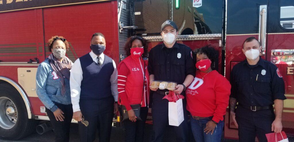 SLA treated first responders Engine House 28