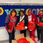 SLA Delivered Books to ElementarySchool