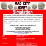 Mad City Money Simulation Flyer