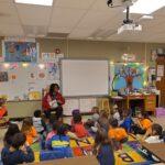 SLA Chapter Member at Marion Elementary School