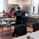 President DeJeanette Williams at Fire House 28