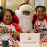 SLA Social Action Committee at Breakfast with Santa