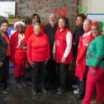 SLA chapter members at the Wesley House